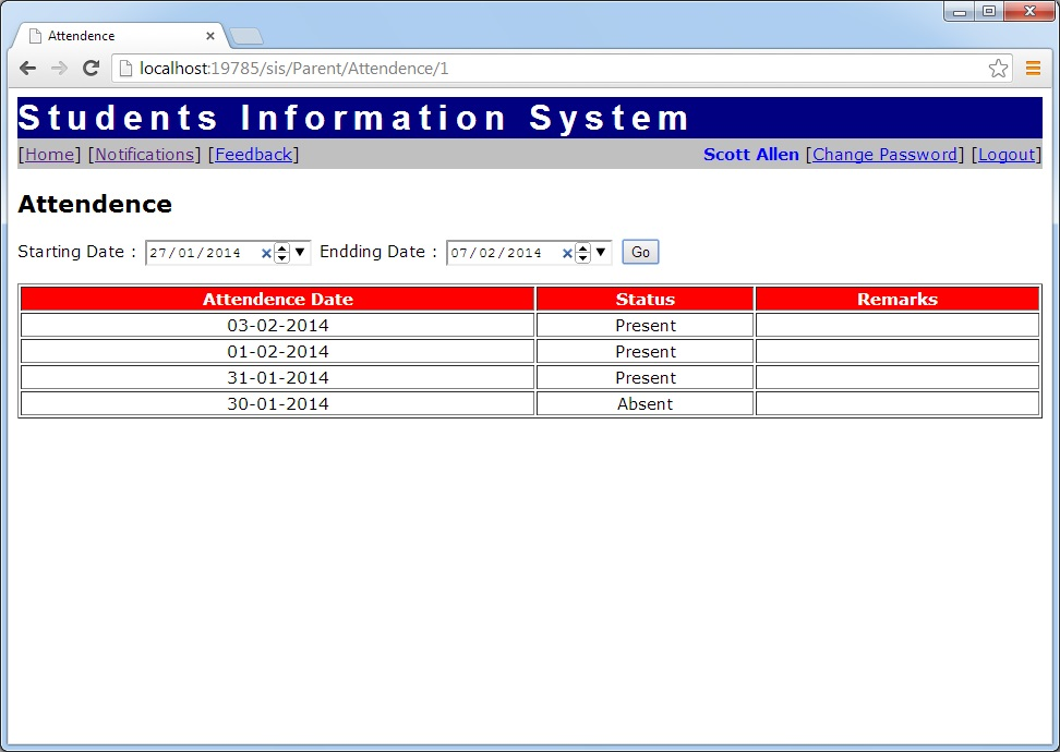 Students Information System